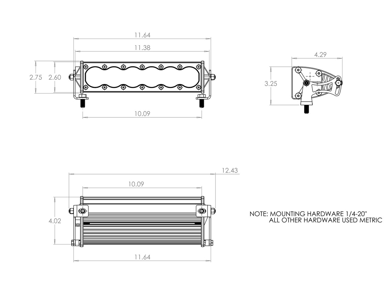 OnX6+, LED Light Bars