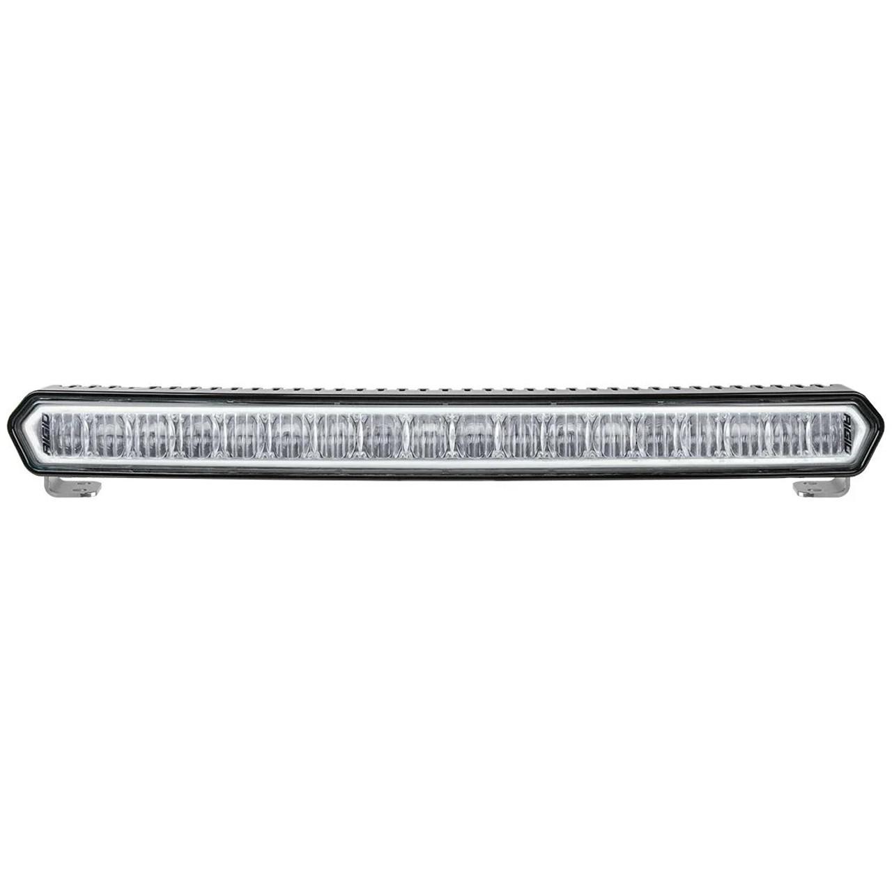 "SR-L Series 20"" Off-Road LED Light Bar Black with White Halo"