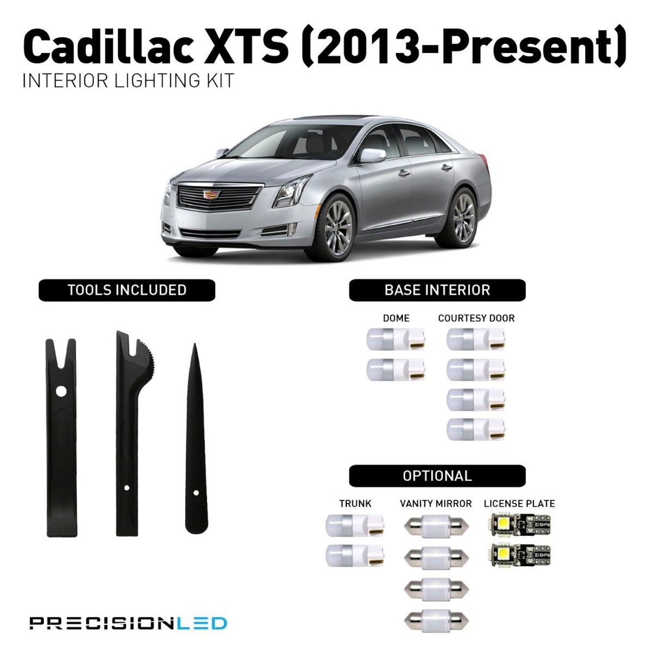 Cadillac XTS Premium LED Interior Package (2013-Present)