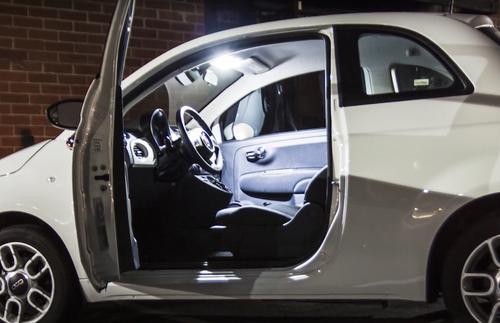 Fiat 500 Premium LED Interior Package (2012-Present)
