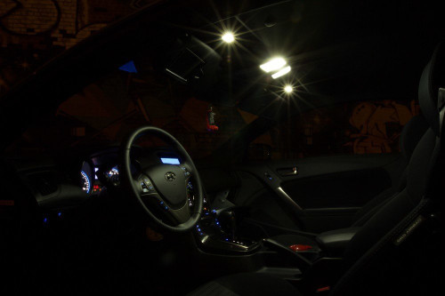 Hyundai Genesis Coupe LED Interior Package (2010-Present)