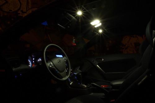 Hyundai Genesis LED Interior Package (2009-Present)