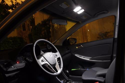 Hyundai Accent Premium LED Interior Package (2012-Present)