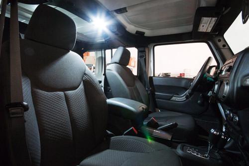 Jeep Wrangler JK 2-Door LED Interior Package (2007-Present)