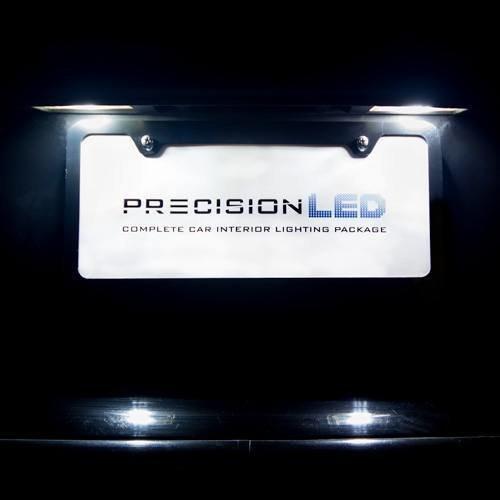 Jeep Wrangler JK 2-Door LED License Plate Lights (2007-Present)
