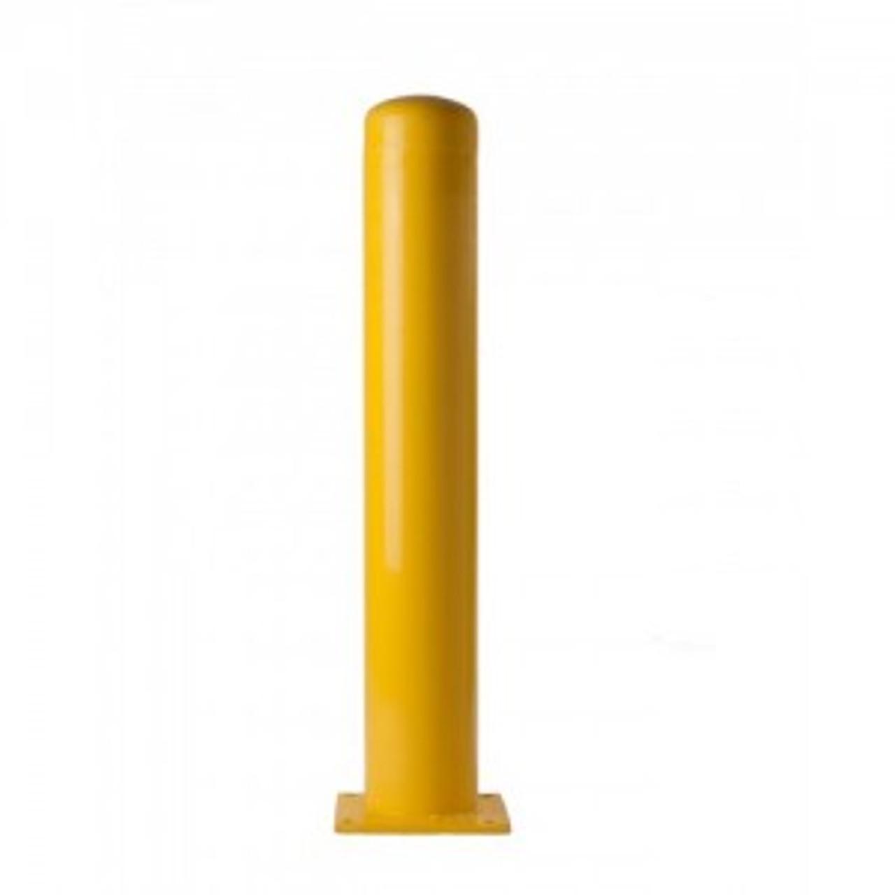42H x 10W Steel Bolt Down Bollard