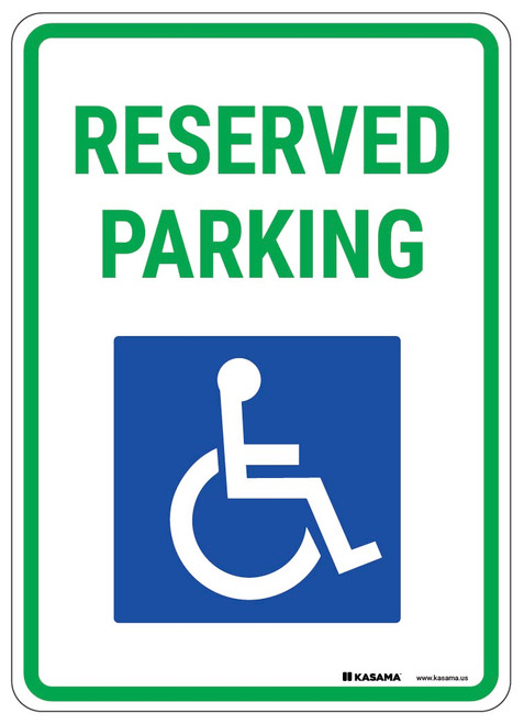 VARIOUS SIZES SIGN /& STICKER OPTIONS 2 WAY ARROW STAFF PARKING ONLY SIGN
