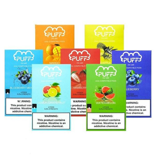 Puff pods 4ct | Buy 10 and get 1 Free | Low Prices | $8
