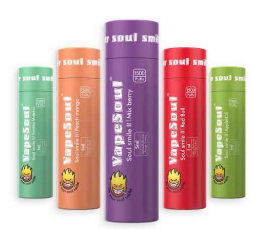 VapeSoul Soul Smile II Rechargeable Disposable Vape