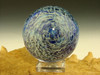Full Dichroic Glass Vortex Marble Orb By Tim Mazet oddity Lampwork Art Orb (ready to ship)