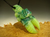Glass Alien Creature Claw Pendant lampwork Boro focal bead oddity by Eli Mazet VGW (ready to ship)