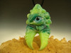 Glass Alien Creature Claw Pendant lampwork Boro focal bead oddity by Eli Mazet VGW