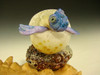 glass hatching sea turtle by Mazet