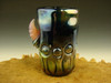 Hand blown Horny Eye Shot Glass Flameworked Art Freaky Monster by Eli Mazet