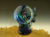 Mind Blower Skull Glass Vortex Marble Illusion Orb By Tim Mazet Lampwork Art Orb Full color (ready to ship)