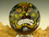 Art Glass Third eye Goblin Marble Collectible Orb Sphere Monster Face Kaleb Folck (Ready to Ship)