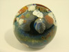 Coral Reef Glass Art Marble with Jellyfish Implosion Ocean Orb by Aaron Slater VGW (ready to ship)