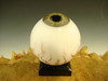 Glass Art Eyeball Marble Creepy Eye Oddity orb with veins #6 by Kenny Talamas  (ready to ship) Halloween Decor