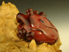 Glass Human Heart Pendant Necklace lampwork Boro focal bead oddity by Kenny Talamas (ready to ship) #1