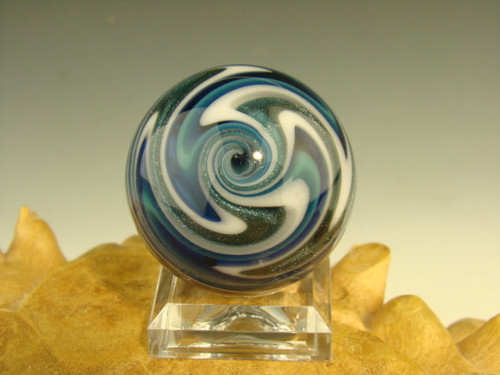 Glass Wig wag Marble by Kenny Talamas