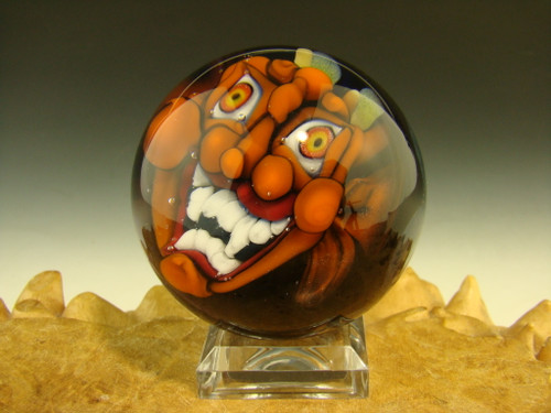 Glass Devil Marble by Kaleb Folck