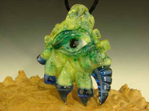 glass creature pendant by eli mazet
