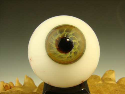Glass Art Eyeball Marble by Kenny Talamas