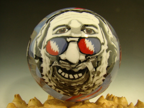 Grateful Dead Glass Marble by Steve Boehme