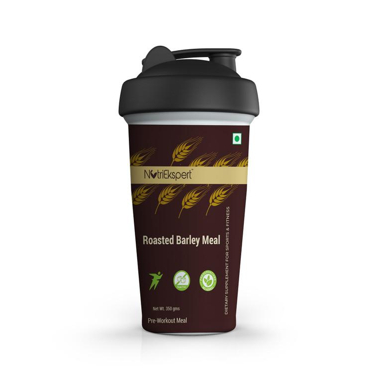 NutriEkspert Roasted Barley Powder in Protein Shaker with Rock Salt & Carom Seeds-350 gms