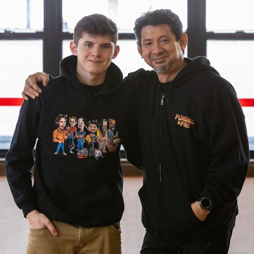 Original Comic Crew Forged In Fire Sweatshirt