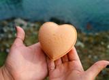 Orange Heart Bath Bombs