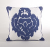 Odessa Damask Down Filled Decorative Throw Pillow