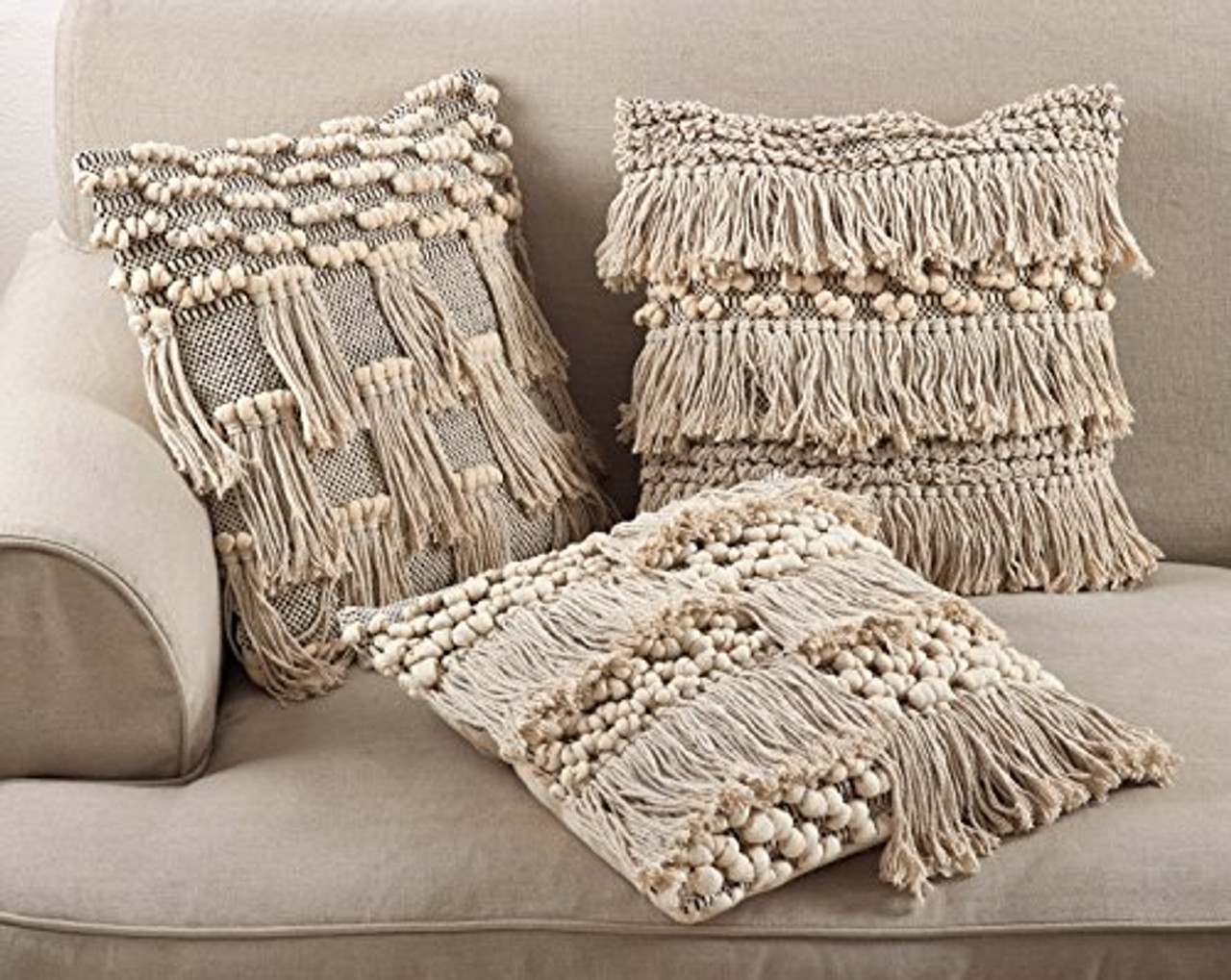 Moroccan Wedding Blanket.Moroccan Wedding Blanket Style Design Fringe Cotton Down Filled Throw Pillow