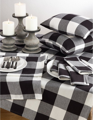 Fennco Styles Buffalo Check Plaid Design Cotton Collection