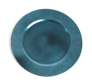 Fennco Styles Classic Design Holiday Decorative Charger Plate-Set of 4