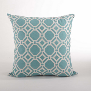 Hydra Printed Geo Down Filled Throw Pillow
