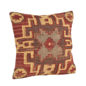 Traditional Kilim Down Throw Pillow