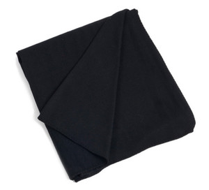 Classic Bamboo Design Throw Blanket, Black