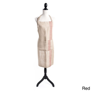 Striped Design Full Length Apron