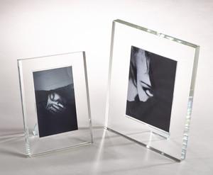 Fennco Styles Home Décor Clear Crystal Photo Frame