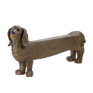 Fennco Styles Patio Garden Decoration Long Dog Bench