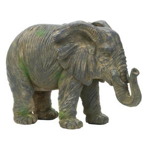 Fennco Styles Decoration Shabby Chic Large Elephant Statue