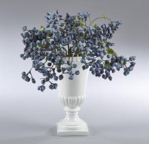 Fennco Styles Elegant Antique Decorative Resin Urn