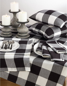 Fennco Styles Buffalo Check Plaid Design Cotton Collection