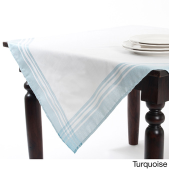 Mirasol Iridescent Plaid Tablecloth