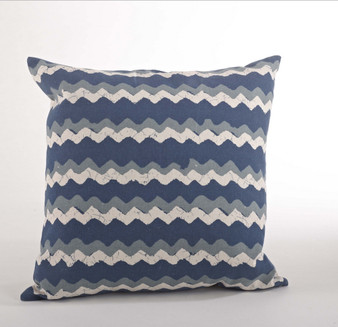 Marettimo Zigzag Down Filled Decorative Throw Pillow