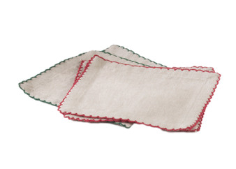 Crochet Scalloped Design Cotton Placemats, Set of 4