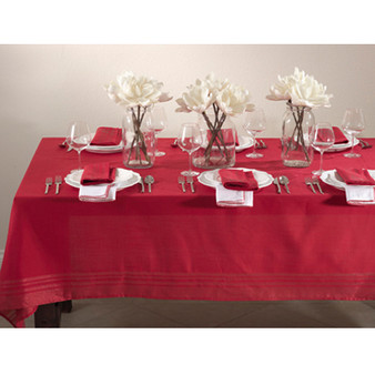 Holiday Iridescent Design Plaid Tablecloth