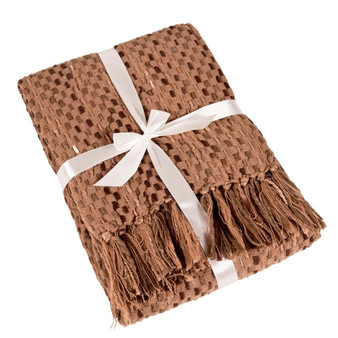 Basket Weave Design Throw Blanket