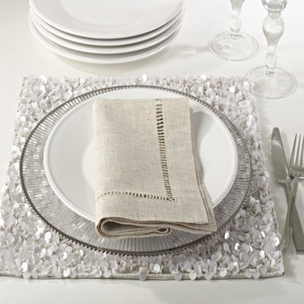 Toscana Hemstitched Dinner Napkins